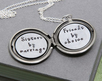 Christmas Gift For Daughter Daughter Necklace Locket Etsy