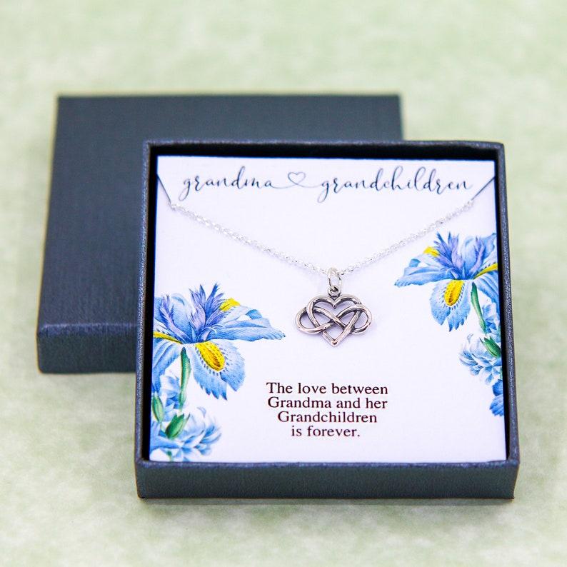 Grandma Necklace Grandma Gift Gift for Nana Jewelry for Family Nana Necklace Grandmother and Granddaughter Necklace Gift for Grandma