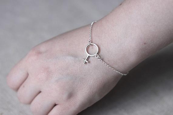 Jewelry BraceletFemale For SymbolGift WomenFeminist Venus Silver SaleFeminine SpVzqUM