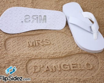 411cce7b8d796 Custom Bridal Sandals for Beach Weddings - Personalize With Your Own Design   check size chart