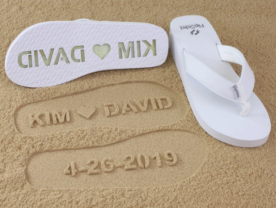 b1cc544626adf Custom Wedding Wedge Sandals Personalize Your Own Sand