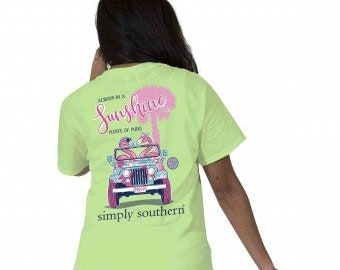 Simply Southern® PREPPYFLAMINGO-LIMEAIDE