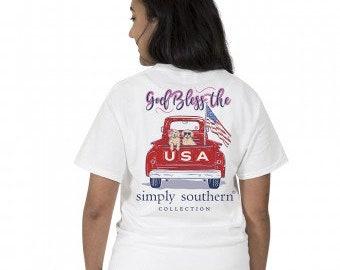 Simply Southern®  PREPPYUSA-WHITE