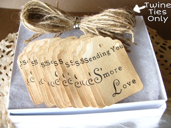 50 300 twine jute ties only for my sending you smore love favors 50 300 twine jute ties only for my sending you smore love favors ties only wedding favor do it yourself favor diy wedding favors from eternaljournals solutioingenieria Choice Image