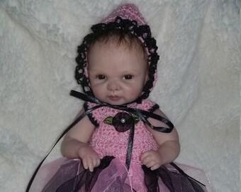 Crochet fairy pixie costume for a 7