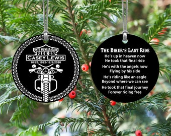 Harley Davidson 2021 Christmas Ornaments Harley Davidson Ornaments Etsy