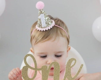 First Birthday Outfit Girl Smash Cake 1st Hat Party Ready To Ship