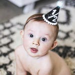 Boy Half Birthday Hat || Half Birthday Party Hat || Royal Blue Party Hat || Birthday Boy Hat || Boy Outfit