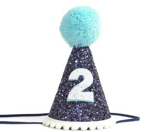 2nd Birthday Boy Party Hat Second Decor Smash Cake Prop Photo