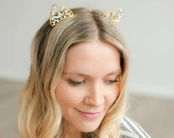 HELLO KITTY design Bright Colored  Headbands Vintage Hair Accessories