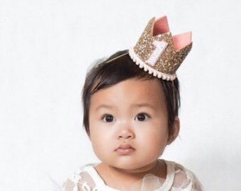 5b64a466eef Birthday Girl Crowns Crowns Party Hats by LittleBlueOlive on Etsy