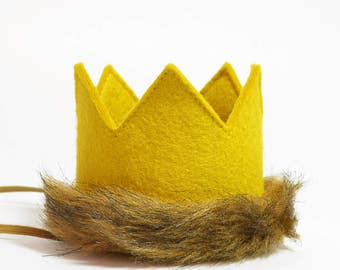 Max Crown || Where the Wild Things Are Outfit || Lion King Cake Smash || Wild Things Crown || Cake Smash Outfit Boy