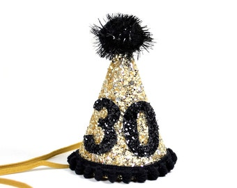 30th Birthday Party Hat Thirtieth Dirty 30 Adult Customize Any Number Or Color