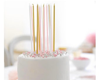 """Tall 9"""" Birthday Candles 