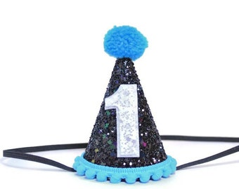 1st Birthday Hat Boy Party Outfit First Smash Cake Pet