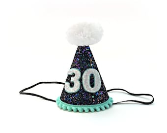 30th Birthday Hat Dirty Thirty Adult 40th 50th 21st Any Number Over The Hill Little Blue Olive