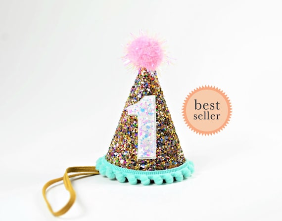 Half Birthday Party Hat For Kids First