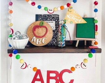 ABC Back To School Garland