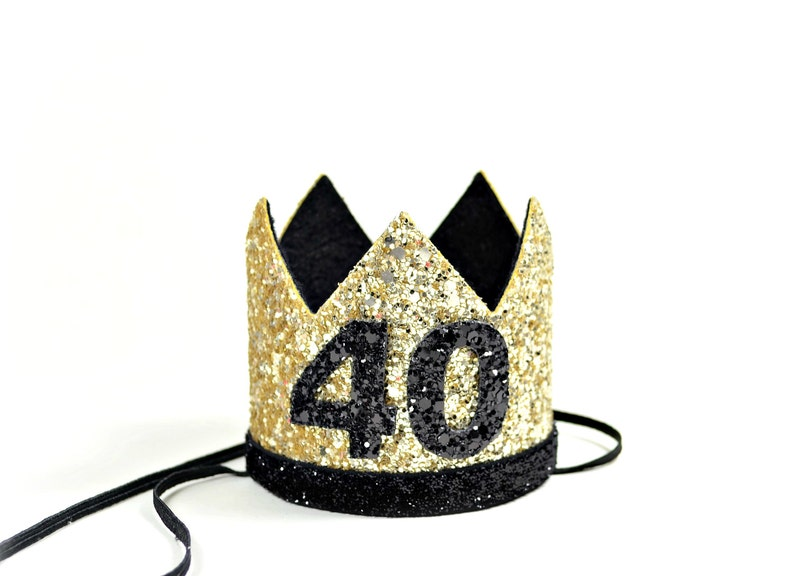 Adult Party Hat 40th Birthday Crown