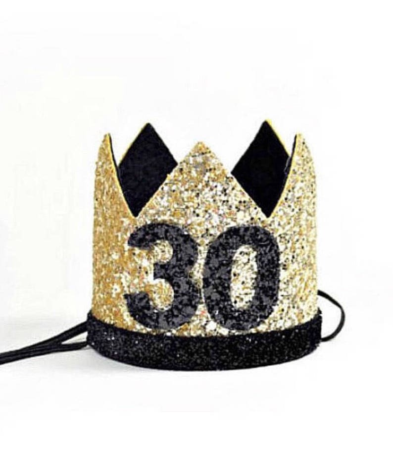 Thirtieth Birthday Crown Adult 30th For Her