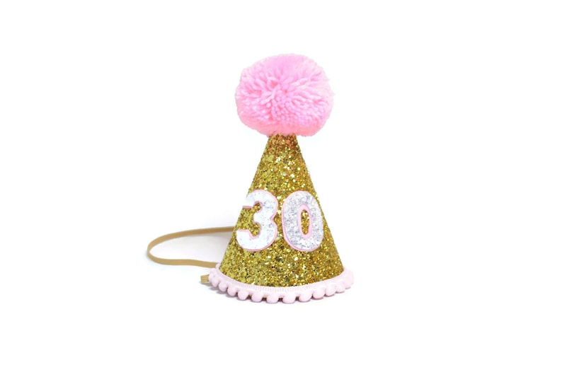 Adult Birthday Party Hat 30th For