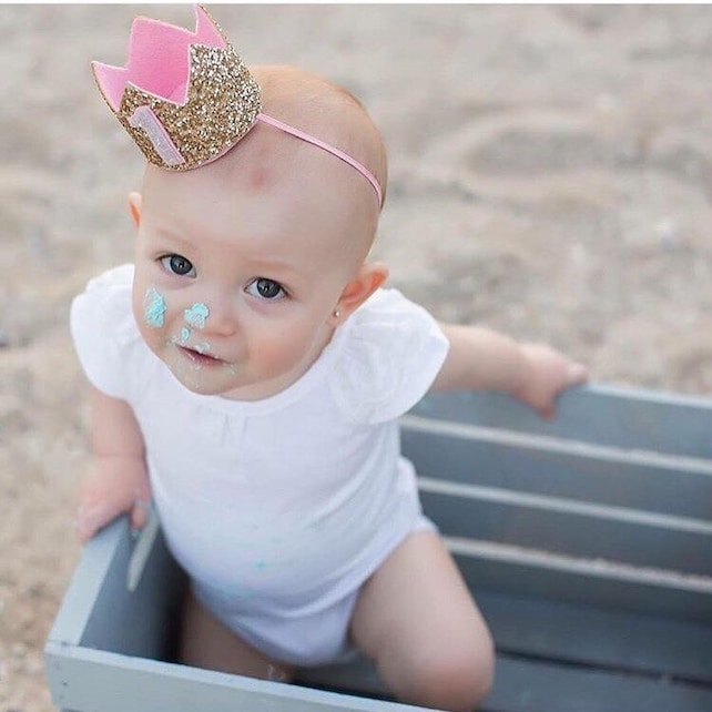 First Birthday Party Hat || First Birthday Crown || First Birthday || 1st Birthday || Birthday Crown