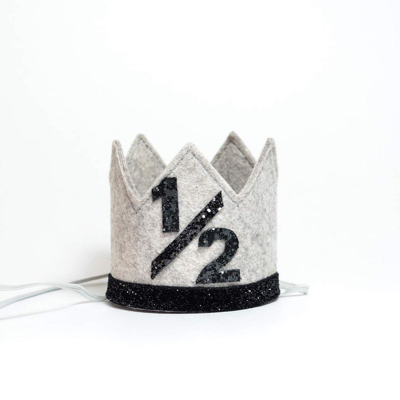 Half Birthday Boy Crown Hat