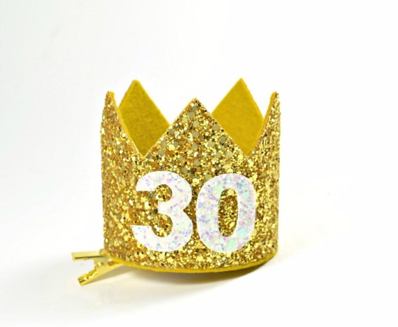 30th Birthday Crown For Her Dirty 30