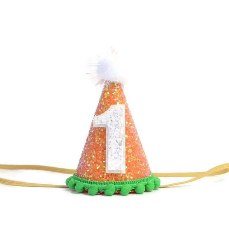 f3d3cafef00 October Birthday Hat Orange white Birthday Decorations First