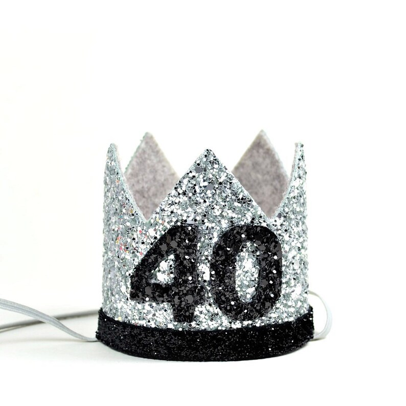 40th Birthday Party Hat Adult