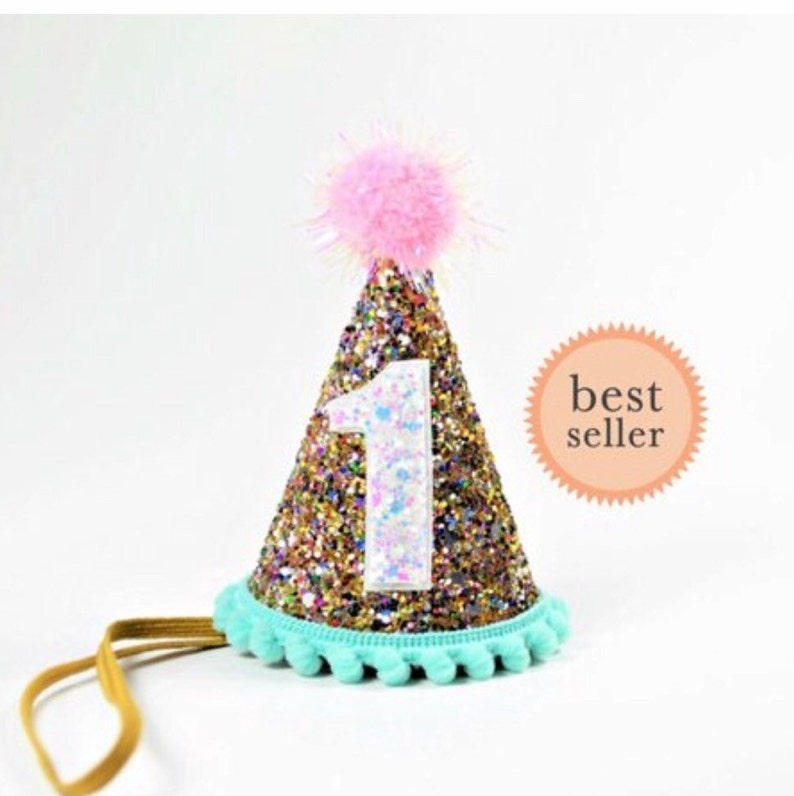 Birthday Party Hat First 1st