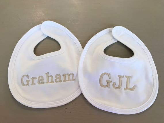 Baby Bib Set of Two