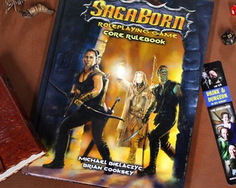 SagaBorn Roleplaying Game Core Rulebook