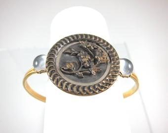 Vintage Victorian 1930s Adjustible Button Bracelet