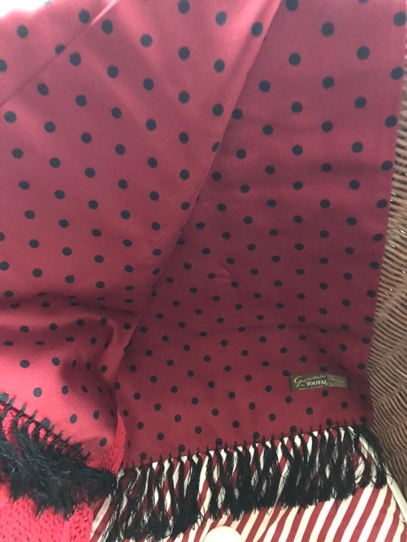 a71d5432cf1 Vintage Tootal Scarf 1960s