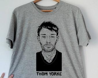b37c8e99 Thom Yorke Unisex Baseball Tshirt 3/4 Sleeve | Etsy