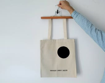 Tote Bag - Screenprint Over Cotton Canvas Tote Bag Malevich