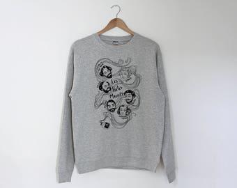 Poetes Maudits Regular Unisex Sweatshirt Sweater Jumper
