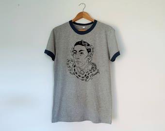 HP Lovecraft Retro Unisex Tshirt