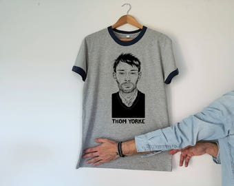 Thom Yorke Retro Unisex Tshirt