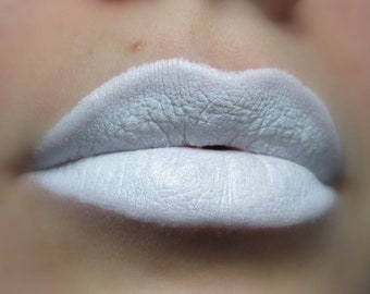 Truth - Matte White Lipstick - Natural Gluten Free Handmade Cruelty Free