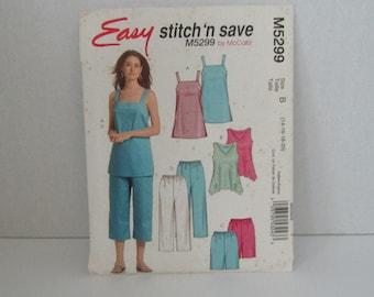 McCall's Easy Stitch 'n Save pattern M5299