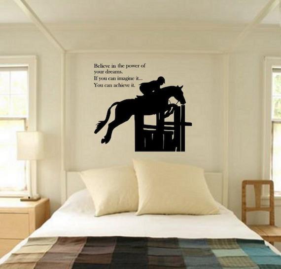 horse decal horse quote decal horse wall decal horse | etsy