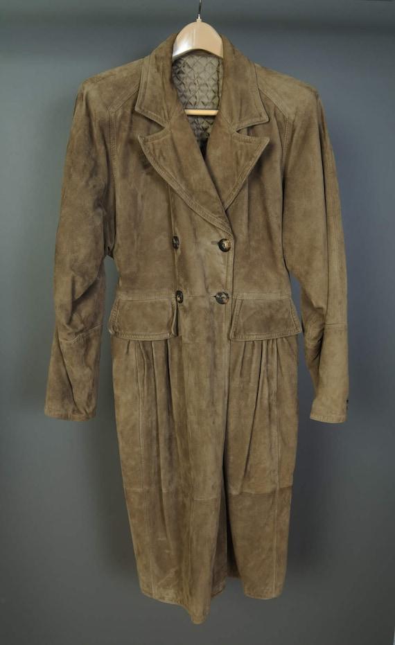 Valentino Suede Coat - Vintage 1970s - SALE!!