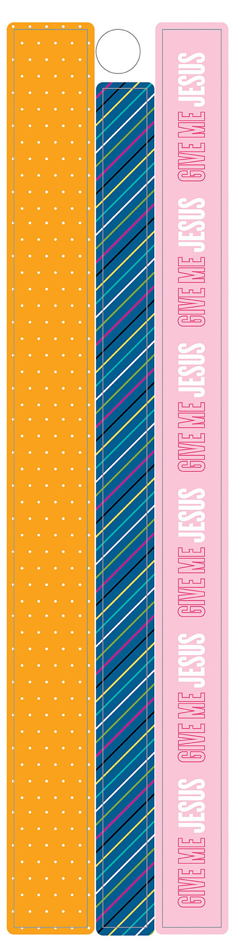 Strips of Washi Tape for Bible JournalingScrapbookingPaper Crafts Illustrated Faith Colorful Washi Stickers