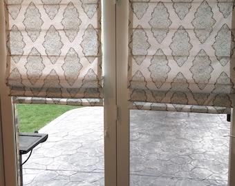 Roman Blinds Door