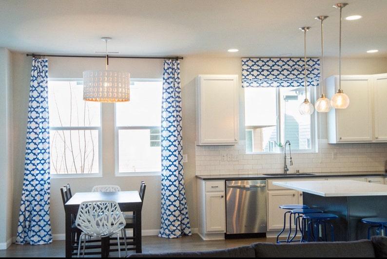 Roman Shade-Custom Blackout Window Treatment Option Classic style In Customer/'s Own Fabric