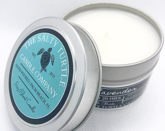 TRAVEL TINS - Soy Blend Candle