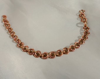 Granada Copper Mobius Chain