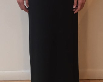 CarmenAndersonNY Modal Knit jersey maxi skirt. Style CAB-6, Made 100% in the USA